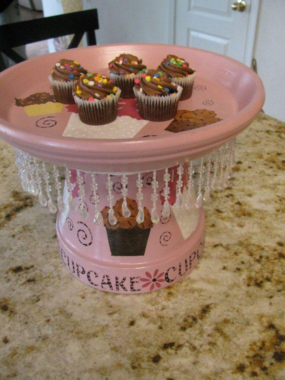 Stylish Cupcake Dessert Stand
