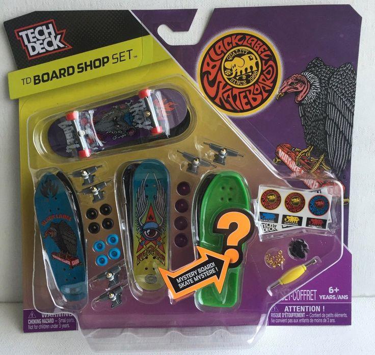 Tech Deck TD Board Shop Set Black Label Skateboards