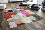 Patchwork-Teppich Vintage