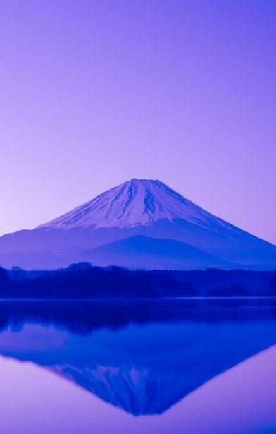 精進湖 Lake Shoji-ko #reflection