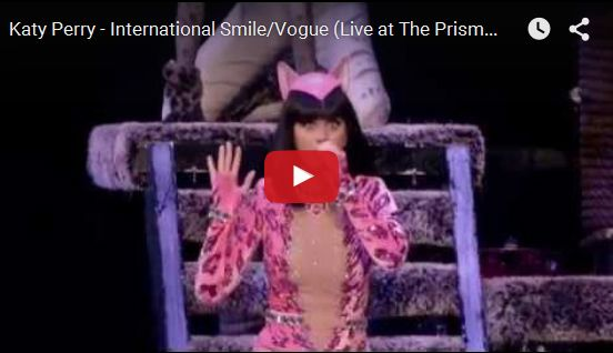 Watch: Katy Perry - International Smile/Vogue (Live at The Prismatic World Tour) See lyrics here: http://katyperry-lyrics.blogspot.com/2013/10/international-smile-lyrics-katy-perry.html #lyricsdome