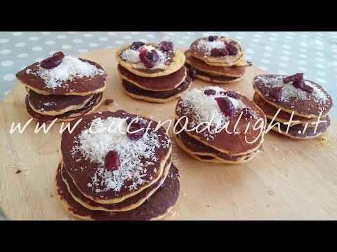 Cucina Dulight - Mini Pancakes - Blinis (videoricetta)