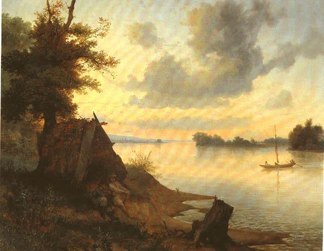 Wojciech Gerson - Banks of River Vistula (Brzegi Wisły)