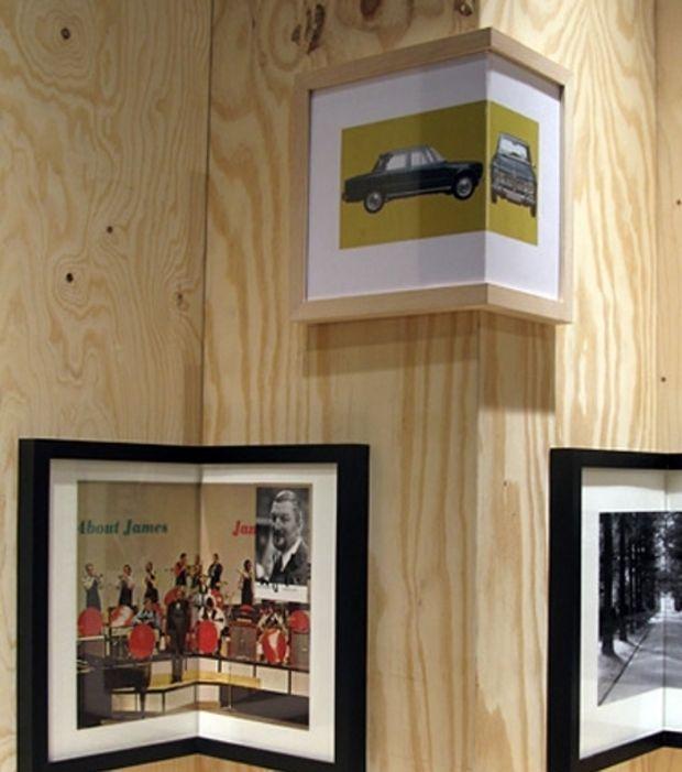 des cadres pour photo en forme d 39 angles qui s 39 adaptent aux. Black Bedroom Furniture Sets. Home Design Ideas