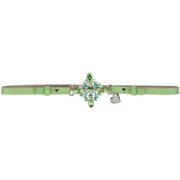 Blugirl Folies Belt ($83) ❤ liked on Polyvore featuring accessories, belts, green, blugirl folies, snap belt and green belt