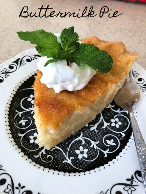 Buttermilk Pie Recipe Filling Recipes Buttermilk Pie Food Processor Recipes