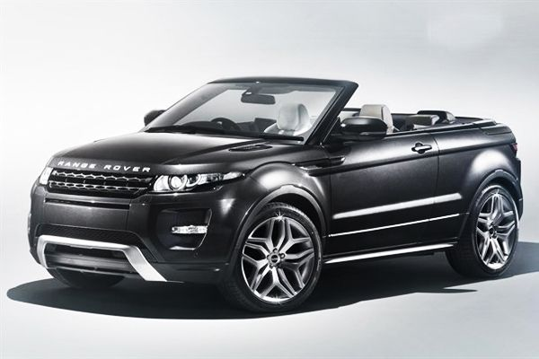 Range Rover Evoque Convertible by Land Rover - hmm I'm not sure how I feel about this!