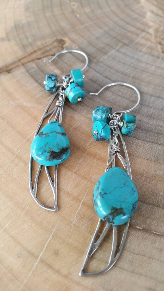 Hey, I found this really awesome Etsy listing at https://www.etsy.com/listing/234410976/turquoise-sterling-silver-dragonfly-wing