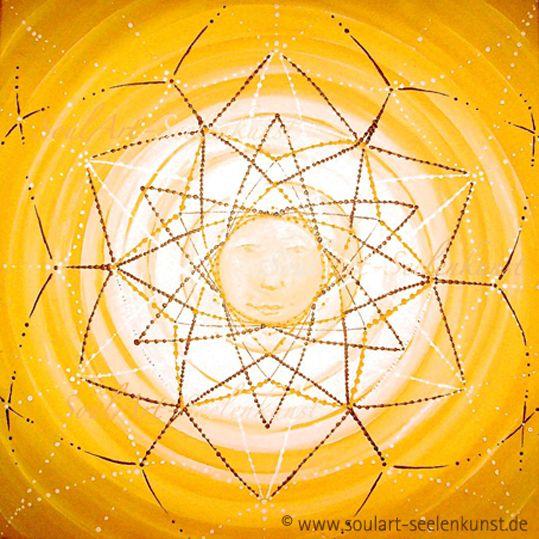 """SoulArt Mandala """"Gesicht der Sonne"""" #soulart #mandala #sonne #sun #star #face  http://www.soulart-mandala.de/?s=Gesicht+der+Sonne&post_type=product"""