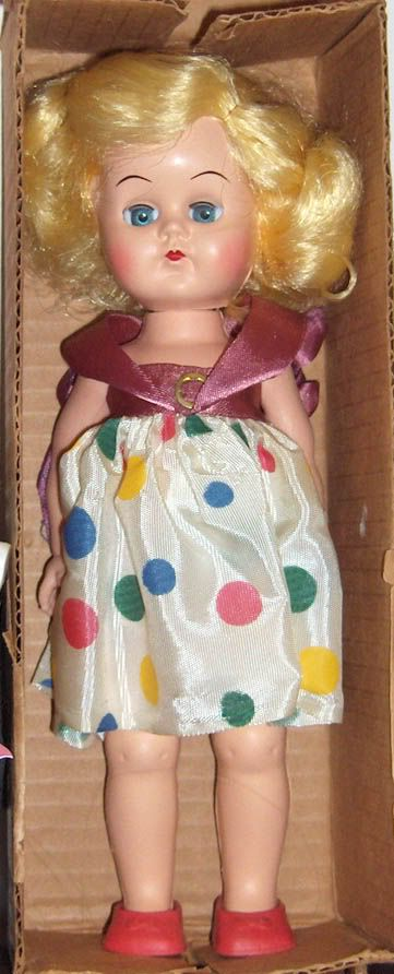 This photo was uploaded by CyndisDolls. 1956 Colgate Palmolive Doll