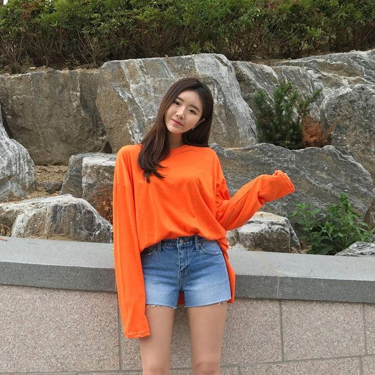 ♡ラウンドネックドロップショルダー長袖Tシャツ♡ #レディースファッション #ファッション通販 #ファッショントレンド #新作 #最新 #モテ服 #韓国ファッション #韓国レディース通販 #ootd #wiw  #fashionaddict #womensfashion #fashion  https://goo.gl/j7wL2T