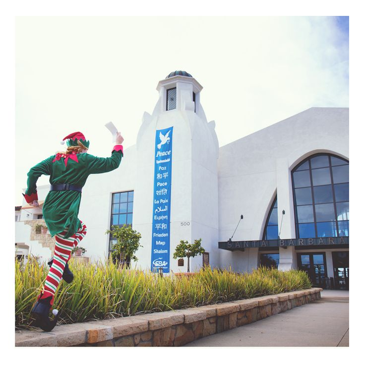 Happy Holidays from Santa Barbara Airport. We are proud to be participating with Visit Ventura in celebrating 25 Days of GIVEAWAYS. Be sure to follow @VisitVentura on Instagram and look for the grand prize from Santa Barbara Airport on Christmas Day! #flysba #venturaelf2015