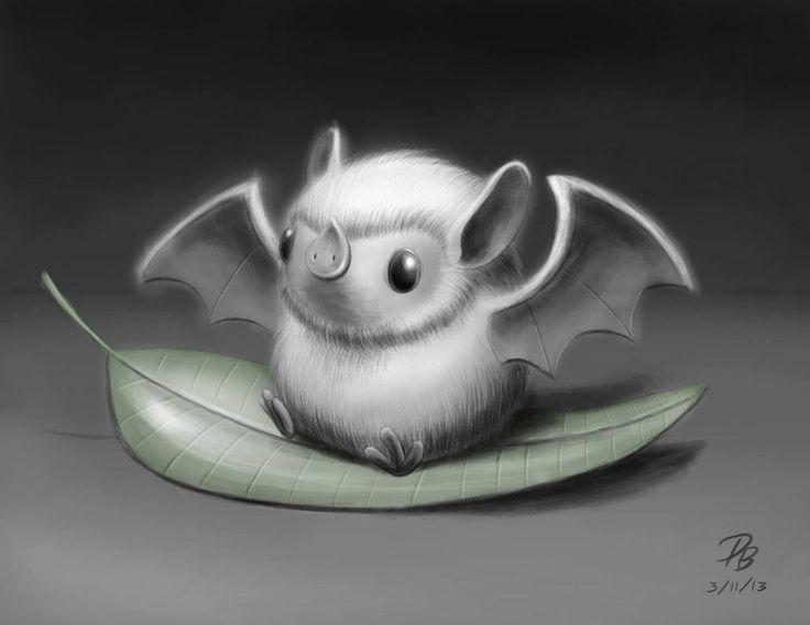 Bat. Bumblebee bat.