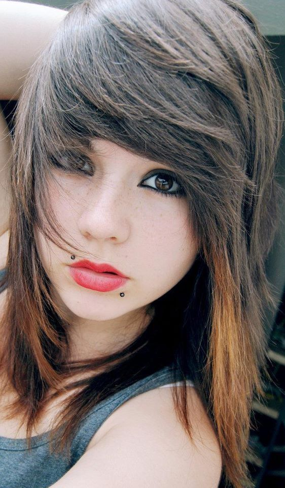 Terrific 1000 Images About Hair Styles On Pinterest Emo Hairstyles Short Hairstyles Gunalazisus