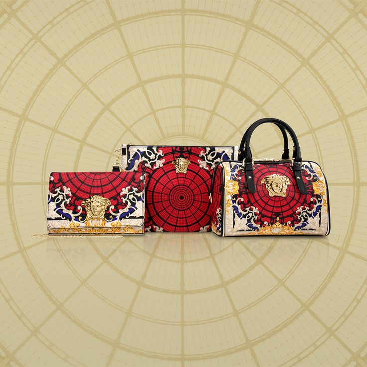 The ‪#‎VersaceOrnamental‬ limited edition features a special collection of Palazzo bags. Exclusively available at the Versace boutique in the Galleria Vittorio Emanuele II in Milan and online for selected European countries on versace.com ‪#‎VersacePalazzoBag‬