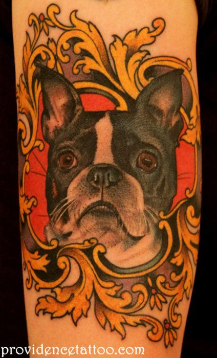 269 best images about boston terrier tattoo on pinterest for Tattoo artists boston
