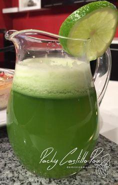 Limonada de albahaca – Pachy Castillo Pou – Dominican Chef