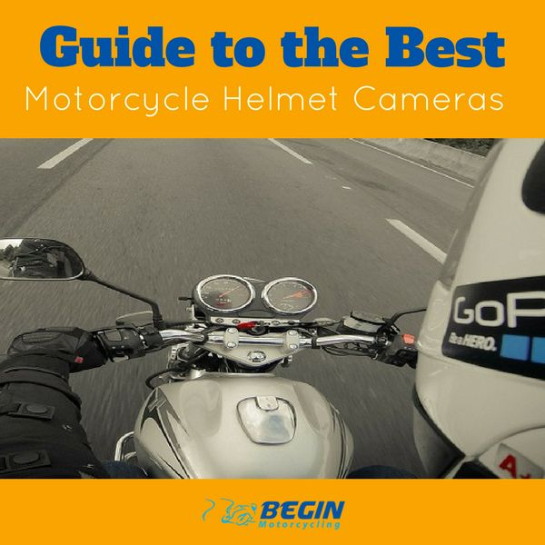 Guide to the Best Helmet Cameras for motorbike enthusiasts. Recording your ride allows you to capture and relive your best moments and easily share it online with friends. #motorcycling #motorbikes #accessories #helmets #cameras #beginmotorcycling