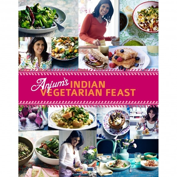 Anjum's Indian Vegetarian Feast.