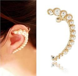 Arete unitario de perlas