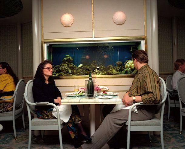 Cette photo de Martin Parr est tiré de la série : Bored Couples…