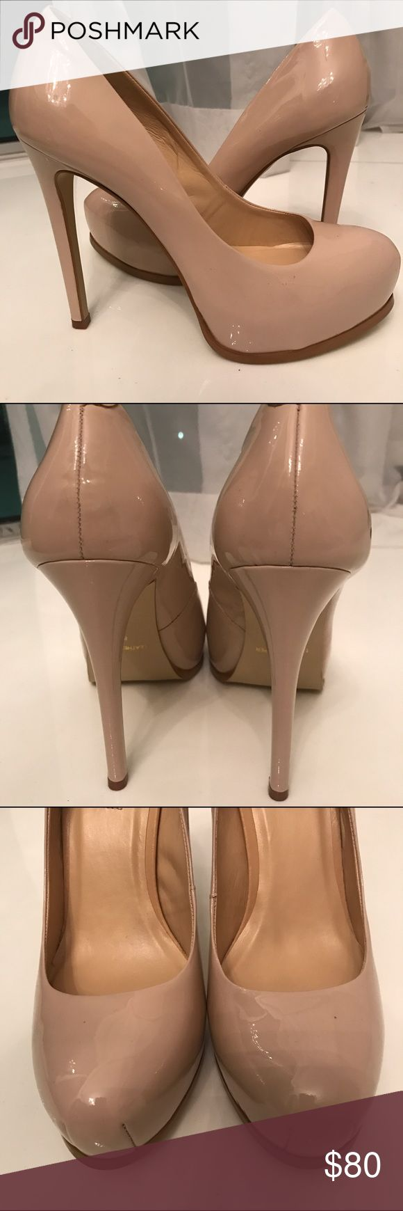 Kelsi Dagger Linzy Patent Leather Pump Kelsi Dagger Linzy Patent Leather pump in Nude/Sand. Brand New never worn. Kelsi Dagger Shoes Heels