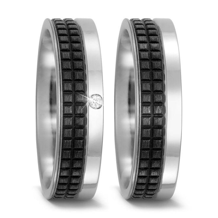 Carbon Eheringe Trauringe TitanFactory 52495 #jewelry #jewels #jewel #fashion #gems #gem #gemstone #bling #stones #stone #trendy #accessories #love #crystals #beautiful #ootd #style #fashionista #accessory #instajewelry #stylish #cute #jewelrygram #fashionjewelry #verlobungsring #engagementring #engagement #verlobungsringe #trauringeschillinger #wedding #weddingrings #diamantring
