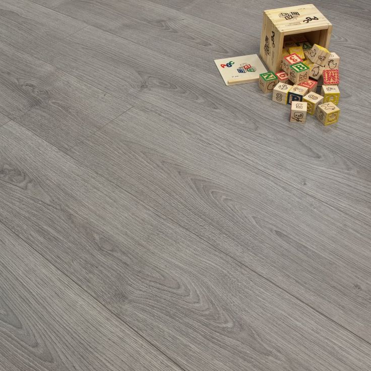 Grey Oak 11mm Style Laminate Flooring, only £10.99 per m2!