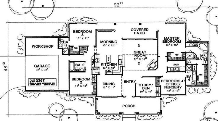 Leed House Plans 2367 Danze Davis Architects Inc