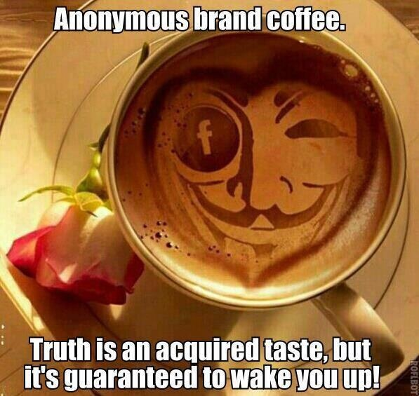 Anonymous brand coffee | Anonymous ART of Revolution