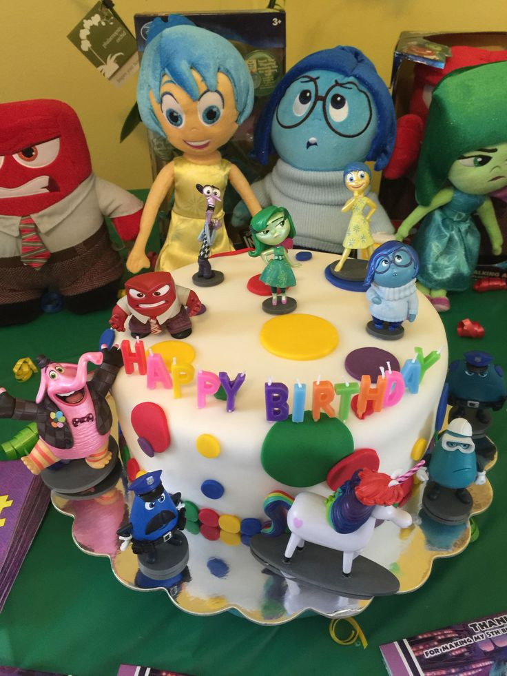 Disney's Inside Out Cake
