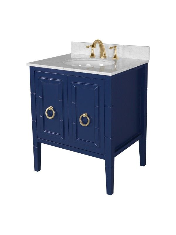 Willow 28 Inch Single Bathroom Vanity In Navy Blue Vanity By Design Blue Bathroom Vanity Single Bathroom Vanity Blue Vanity