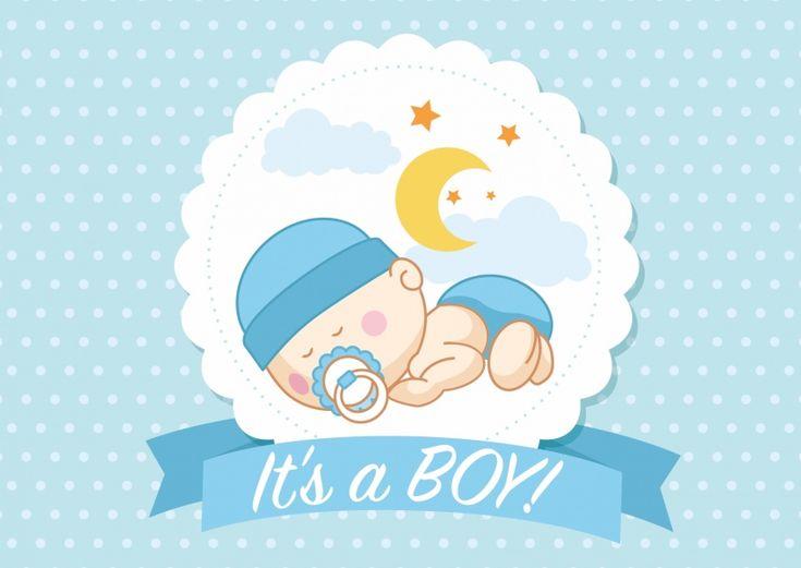 It's a boy | Baby & Family | Send real postcards online | MyPostcard.com