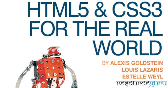 What you will get from this book:  New HTML5 Sementics New CSS3 Features How to use Web Fonts HTML5 Form Elements HTML5 Video and Audio WAI-ARIA HTML5 API's like Geolocation, Offline Web Apps, and Web Storage Browser Support & workarounds
