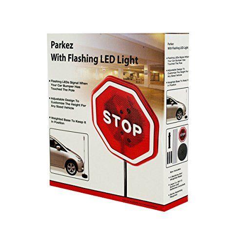 PARKEZ Flashing LED Light Parking Stop Sign For Garage Ko... https://www.amazon.com/dp/B004Z87ZYW/ref=cm_sw_r_pi_dp_x_shCjybSB0N1P1