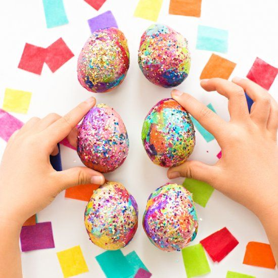 how to make an easter egg out of paper