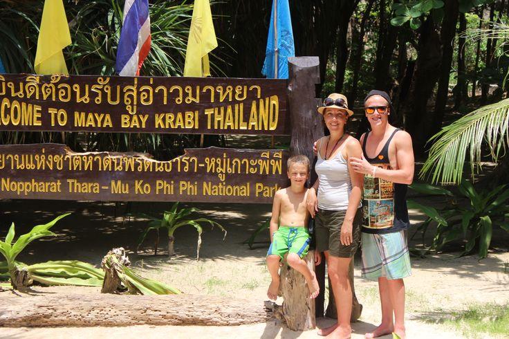 อ่าวมาหยา (Maya Bay) in กระบี่, จังหวัดกระบี่