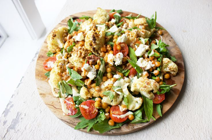 This is one of my favourite warming salads – spiced up with harissa and tasty goats cheese – and full of nutritional benefits! Cauliflower contains sulforaphane, which aids kidney function and impr…