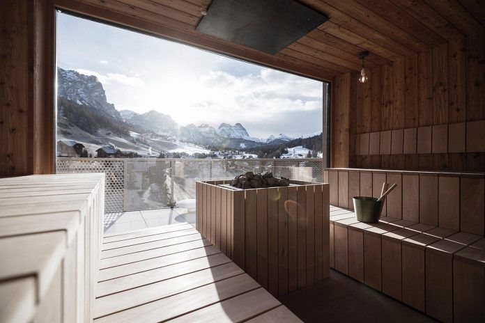 Where mountains becomes an abstract conceptual inspiration - Contemporary Tofana Hotel in San Cassiano - Page 2 of 2 - CAANdesign | Architecture and home design blog