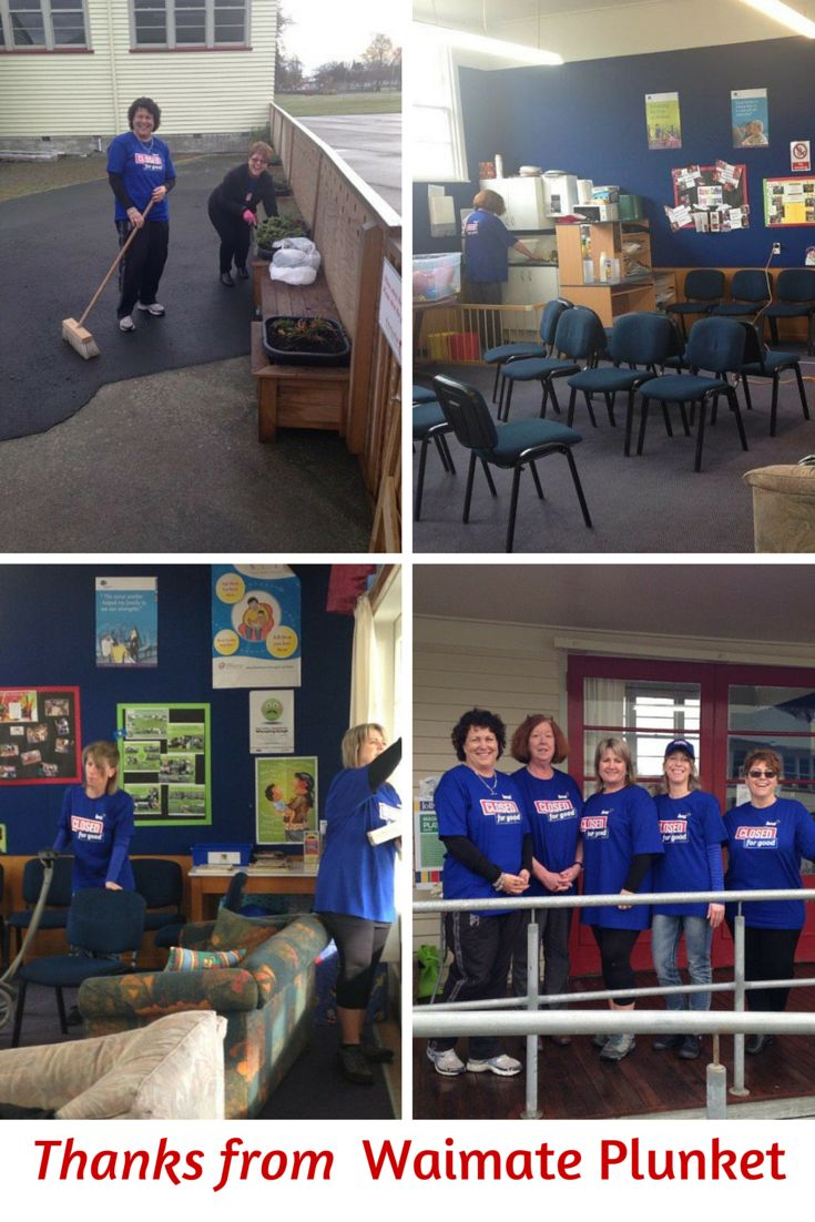 On the Closed for Good day, we had the rooms inside and out have a good Spring Clean. All toys, chairs, carpets, windows, planter boxes etc, all taken care off. A great help. #ClosedForGood2015