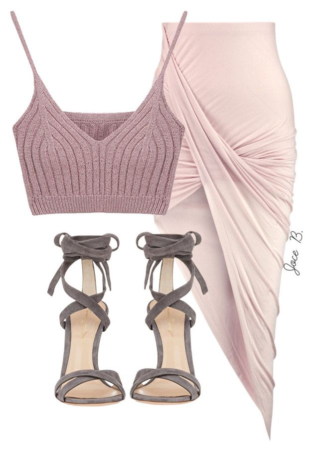 """""""Untitled #148"""" by styledbyjocelyn ❤ liked on Polyvore featuring Helmut Lang and Gianvito Rossi"""