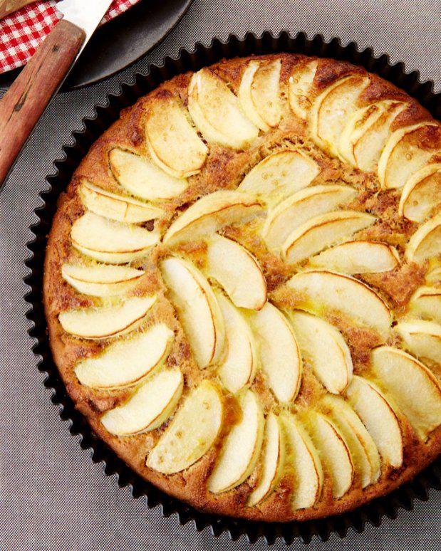 Jablečný koláč s karamelovými sušenkami  Foto: