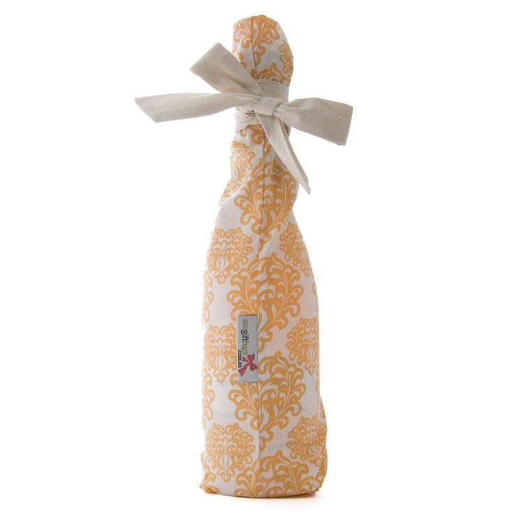 Coral Baroque eco gift bag
