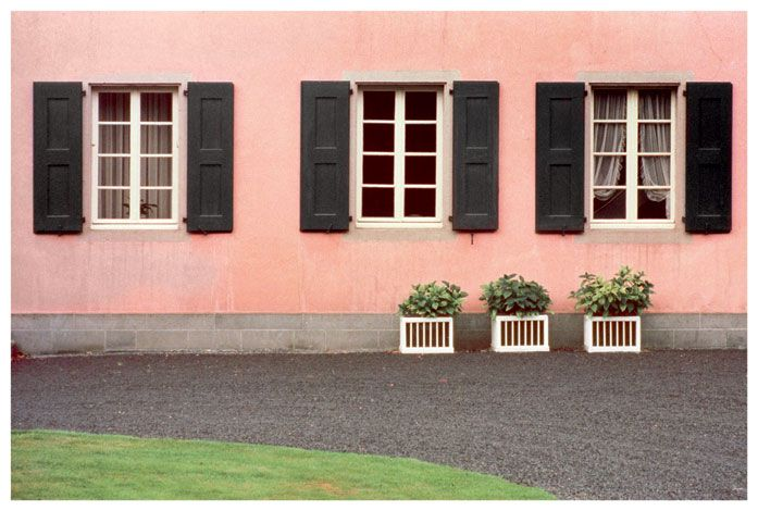 Luigi Ghirri, Bonn, 1973, from the series Kodachrome