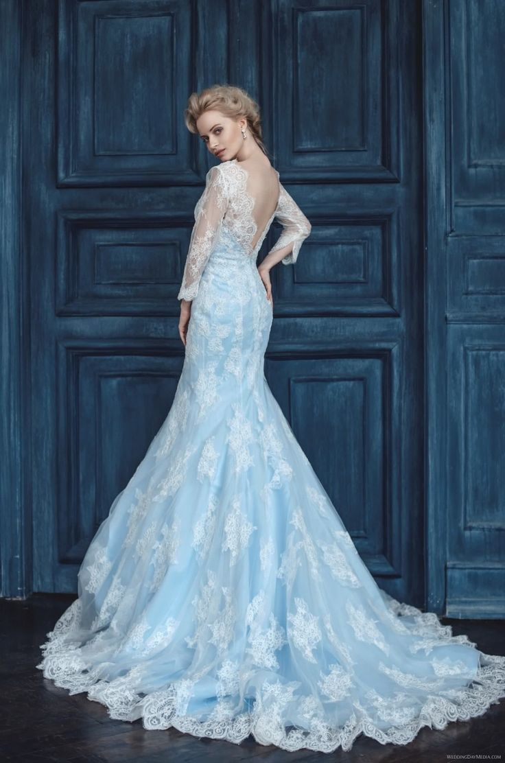 Can Anyone Help Me Locate An Elsa From Disney S Frozen Inspired Wedding Dress Similar To The One Pictured Blue With Lace Are Main Criteria