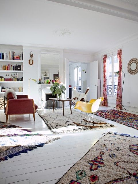 Mejores 112 im genes de alfombras en pinterest alfombras for Muebles marroquies en madrid