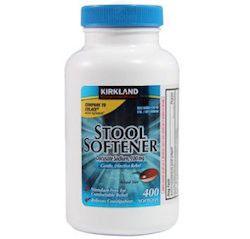 Pastillas para el estreñimiento, el frasco contiene 400 cápsulas blandas.