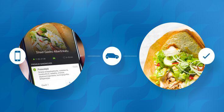 Wolt lets you order home-delivery or takeaway food from 400+ restaurants in Helsinki, Turku, Tampere and Stockholm.