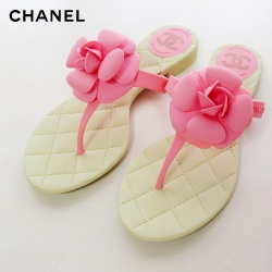 CHANEL beach sandals  シャネルビーチサンダルカメリア