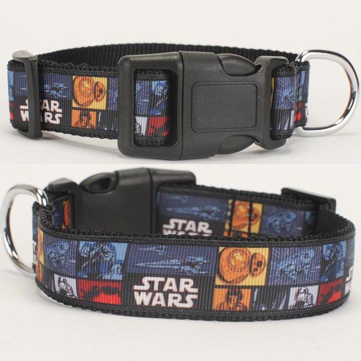 Star Wars Dog Collar ( 2 size avaiable ) //Price: $10.49 & FREE Shipping //     #starwarsfan  #starwarsdaily  #starwarslove  #starwarstoyfigs